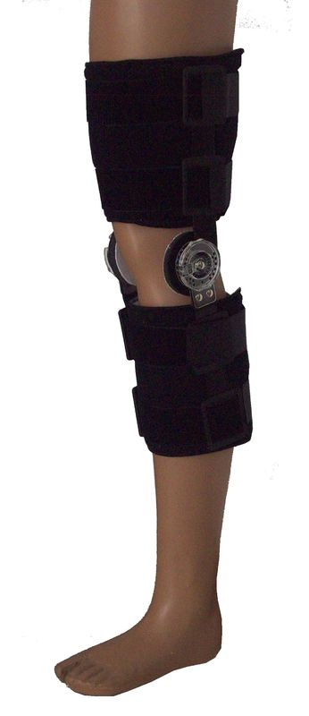 Hinged Immobilization Hinged Neoprene Knee Brace For Knee Injury Recovery