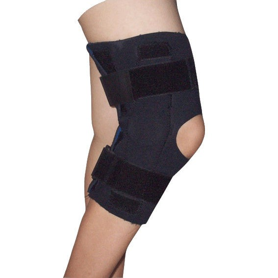 Neoprene Open Patella Medical Knee Brace With Hinge , Latex Free