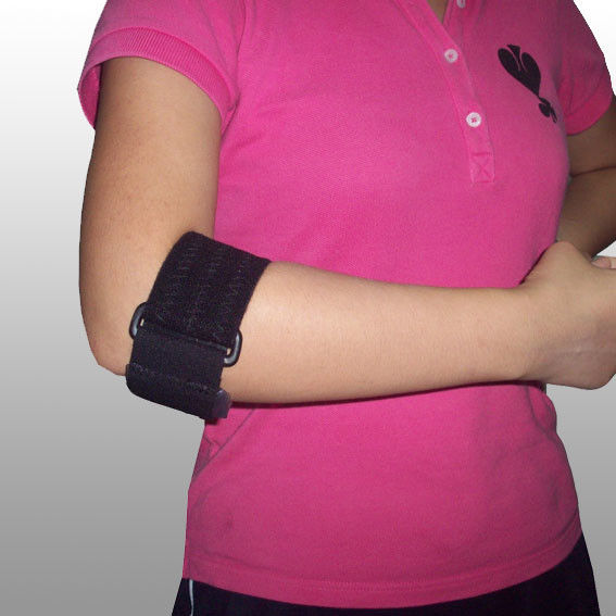 Adjustable Golfers / Tennis Elbow Support Band With Gel FDA CE Certificate