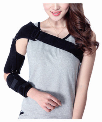 Neoprene Medical Arm Sling Shoulder Stability Support Brace Adjustable Arm Sleeve