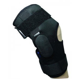 Neoprene Wraparound Rom Hinged Knee Supp