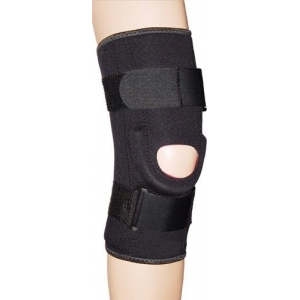 Comfortable Hinged Knee Brace Open Patel