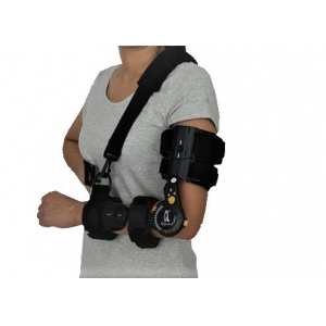 Black Single Move Telescoping Elbow Brac